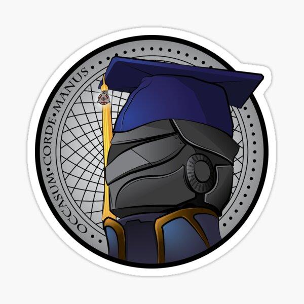 Warlock School New Sticker