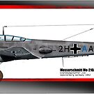 Messerschmitt Me 210A-1 by TheCollectioner