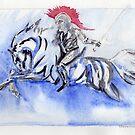 Noble Knight by RavensLanding