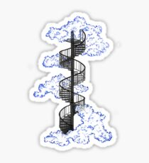 Tiny Stairway to Heaven Sticker