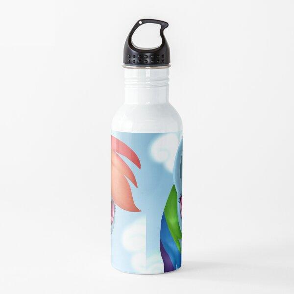 Rainbow Dash Portrait Water Bottle