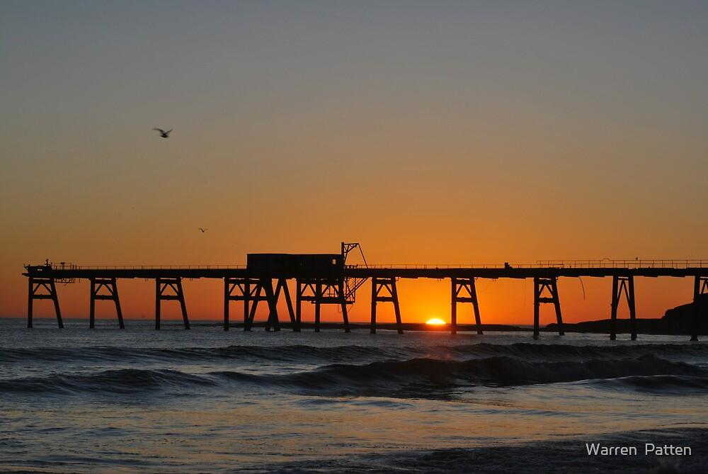 Catherine Hill Bay Sunrise/12-12-10 by Warren  Patten