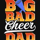 Großer schlechter Beifall-Vati! Lustiges Cheerleading Geschenk von Charles Mac