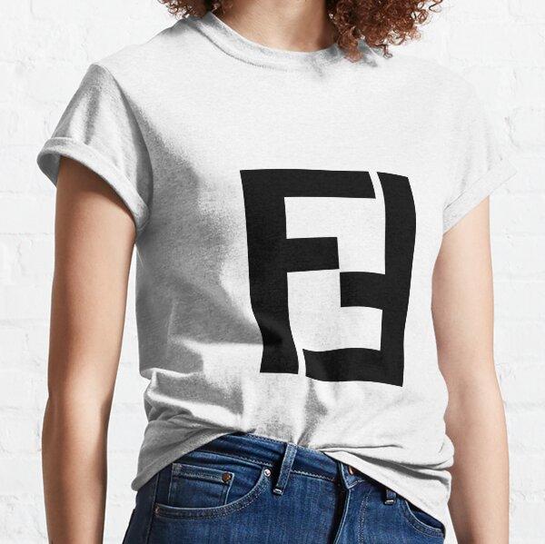 fendi blanco y negro Camiseta clásica