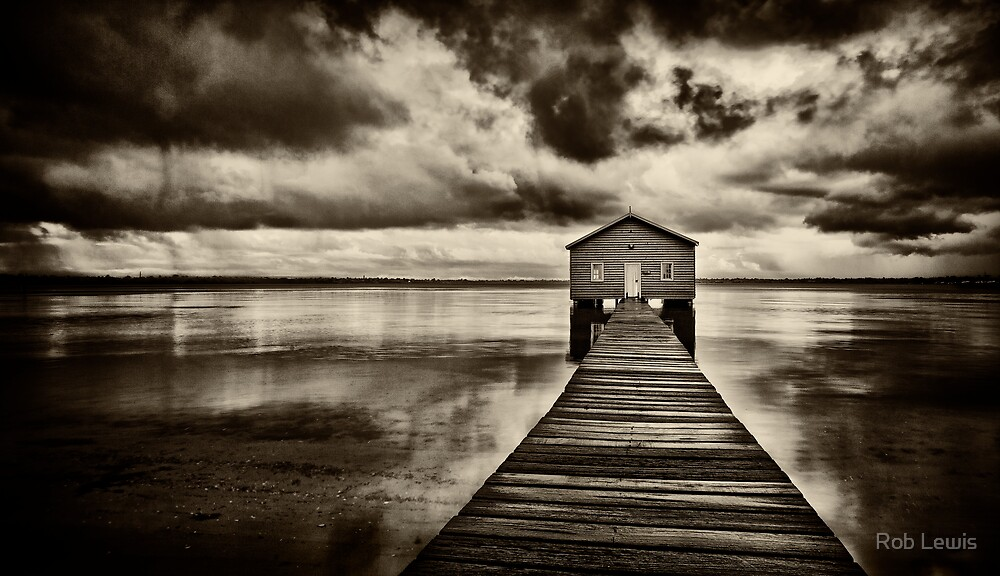 The Boatshed by Rob Lewis