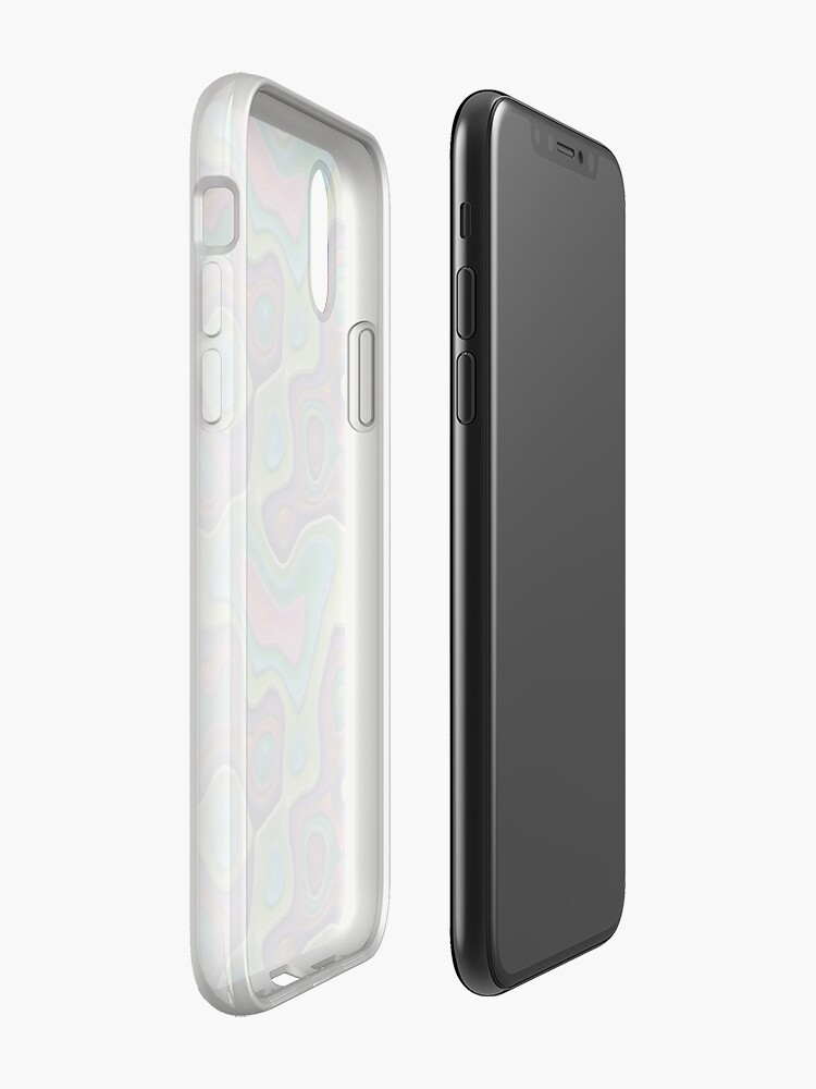 Alternate view of Decorative swirls,3D. iPhone Case & Cover