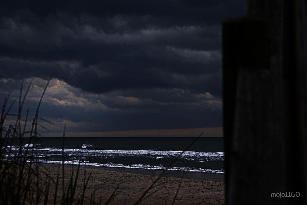 By The Storm Torn Shoreline by mojo1160