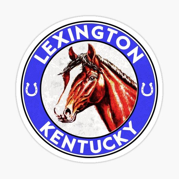 Lexington Kentucky Horse Racing The Bluegrass State Man O War Sticker