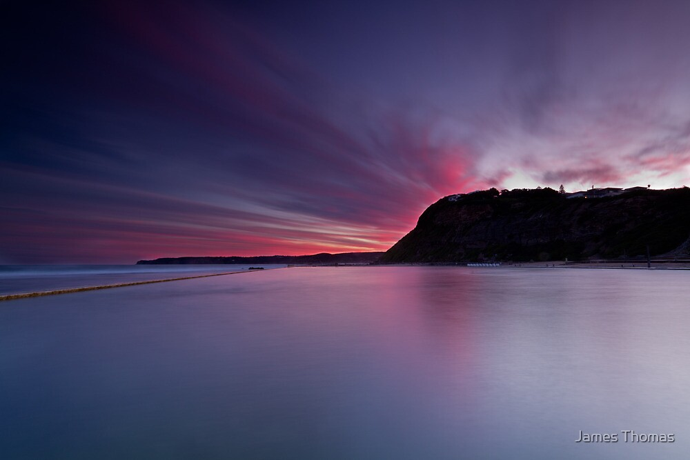 Merewether Baths by James Thomas