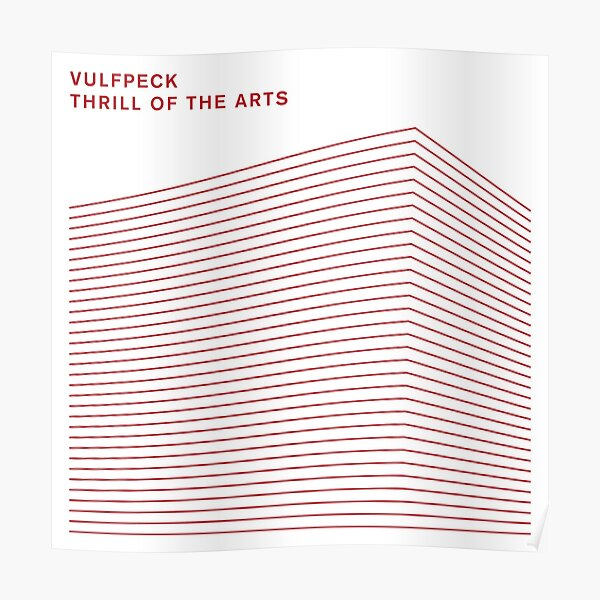 thrill of the arts. Poster