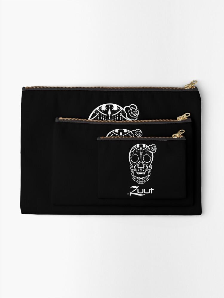 Alternate view of Zuut - Sugar Skull Zipper Pouch
