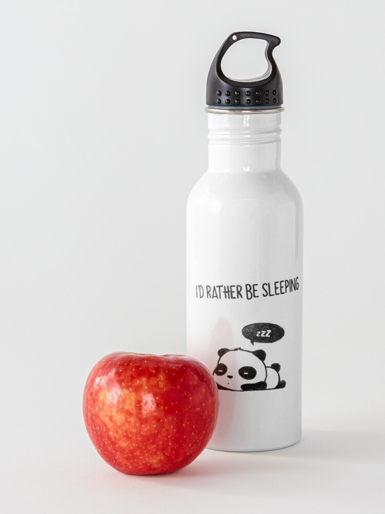 Alternate view of I'd rather be sleeping Water Bottle