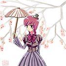 cherry blossom by Sherbetisfizzy