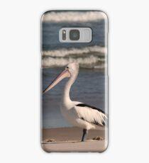 Beach Pelican Samsung Galaxy Case/Skin