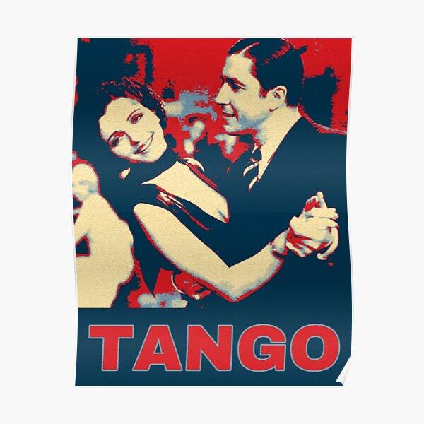Gardel with Mona Maris in 1934 Tango Pop Art Poster