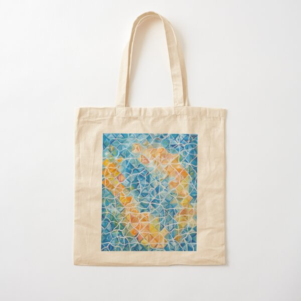 Fishes with reapples Cotton Tote Bag