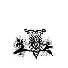 Black&White Owl by kirsten-designs
