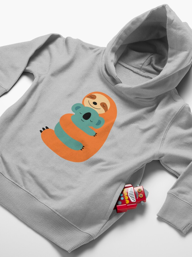 Alternate view of Stick Together Toddler Pullover Hoodie