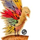 Colourful Bird by kirsten-designs