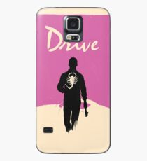 Drive White & Pink Case/Skin for Samsung Galaxy