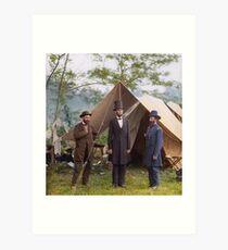Abraham Lincoln during Civil War Art Print