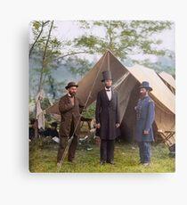 Abraham Lincoln during Civil War Metal Print