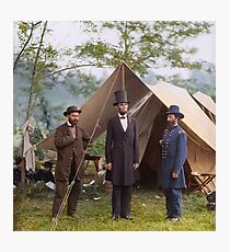 Abraham Lincoln during Civil War Photographic Print