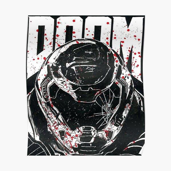 Doom - Doom Eternal - Doomslayer Póster