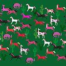 Wild horses by Elisandra Sevenstar