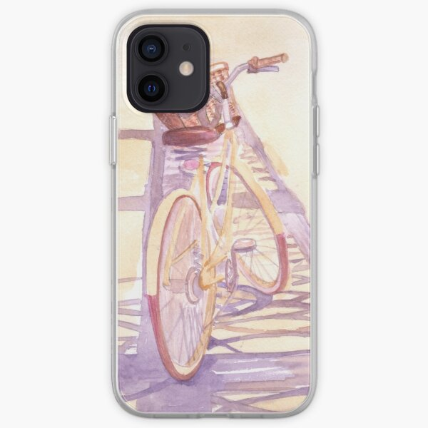 Summer bicycle iPhone Soft Case