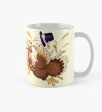 Funny Turkey escape Thanksgiving Character Classic Mug