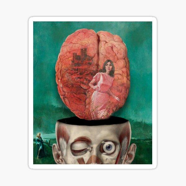 In the brain Sticker