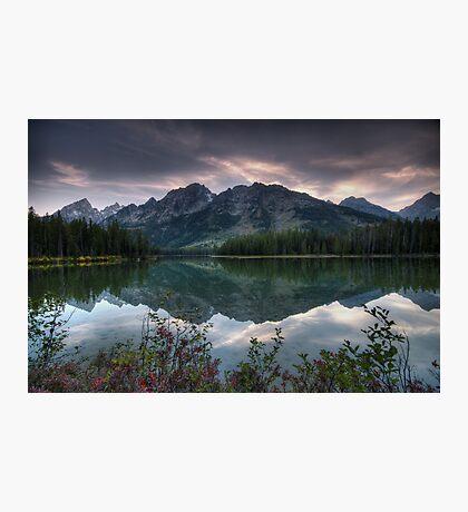 Tetons Twilight Photographic Print