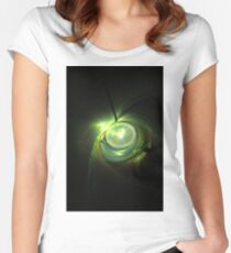 droplet Women's Fitted Scoop T-Shirt
