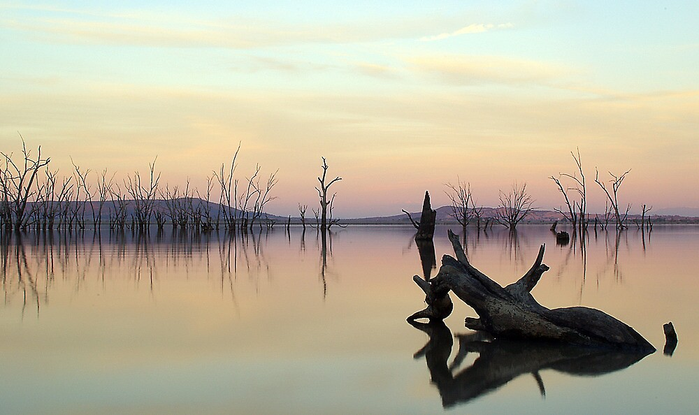 Lake Mokoan, Victoria, Australia by Cole Stockman