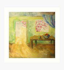 Light in the door Art Print