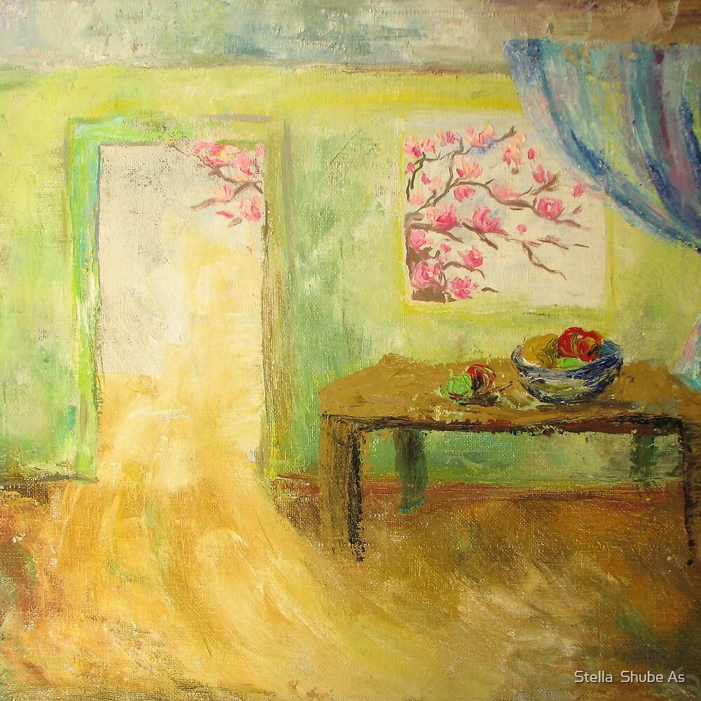 Light in the door by Stella  Shube As