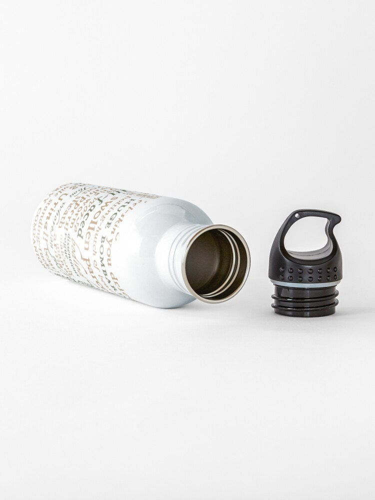 Alternate view of Shakespeare's Insults Collection - Revised Edition (by incognita) Water Bottle