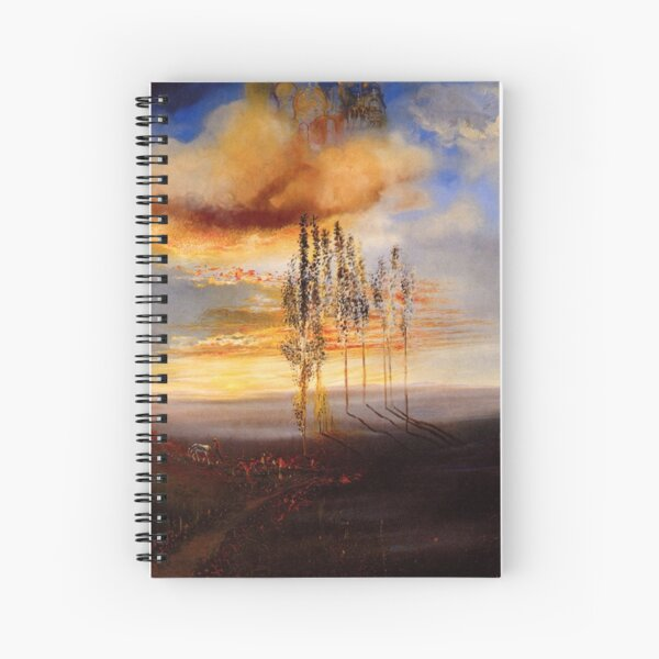 Favourite Artists - Salvador Dali - The Way to Pubol Spiral Notebook