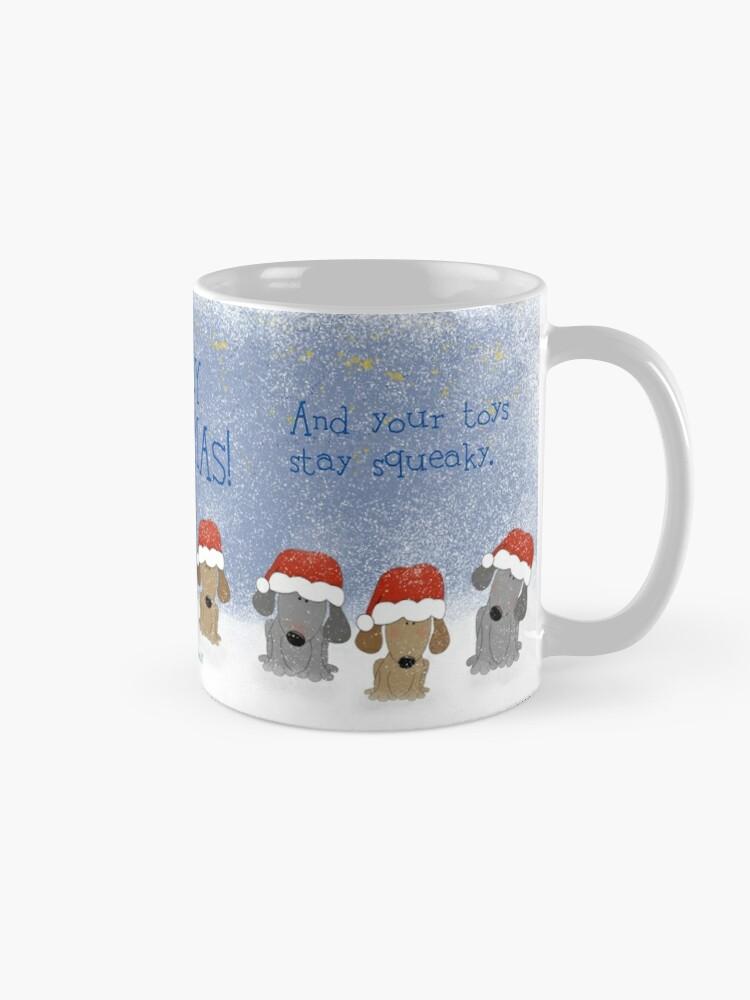 Alternate view of A Toasty Warm Christmas Mug