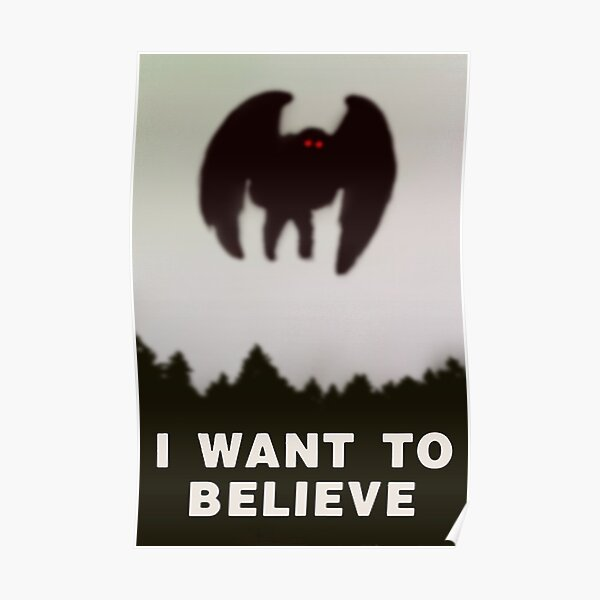 Do You Have a Moment to Hear About Mothman? Poster