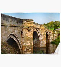 Bridge over the Derwent Poster