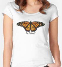 Monarch Butterfly - Got Milkweed? Women's Fitted Scoop T-Shirt