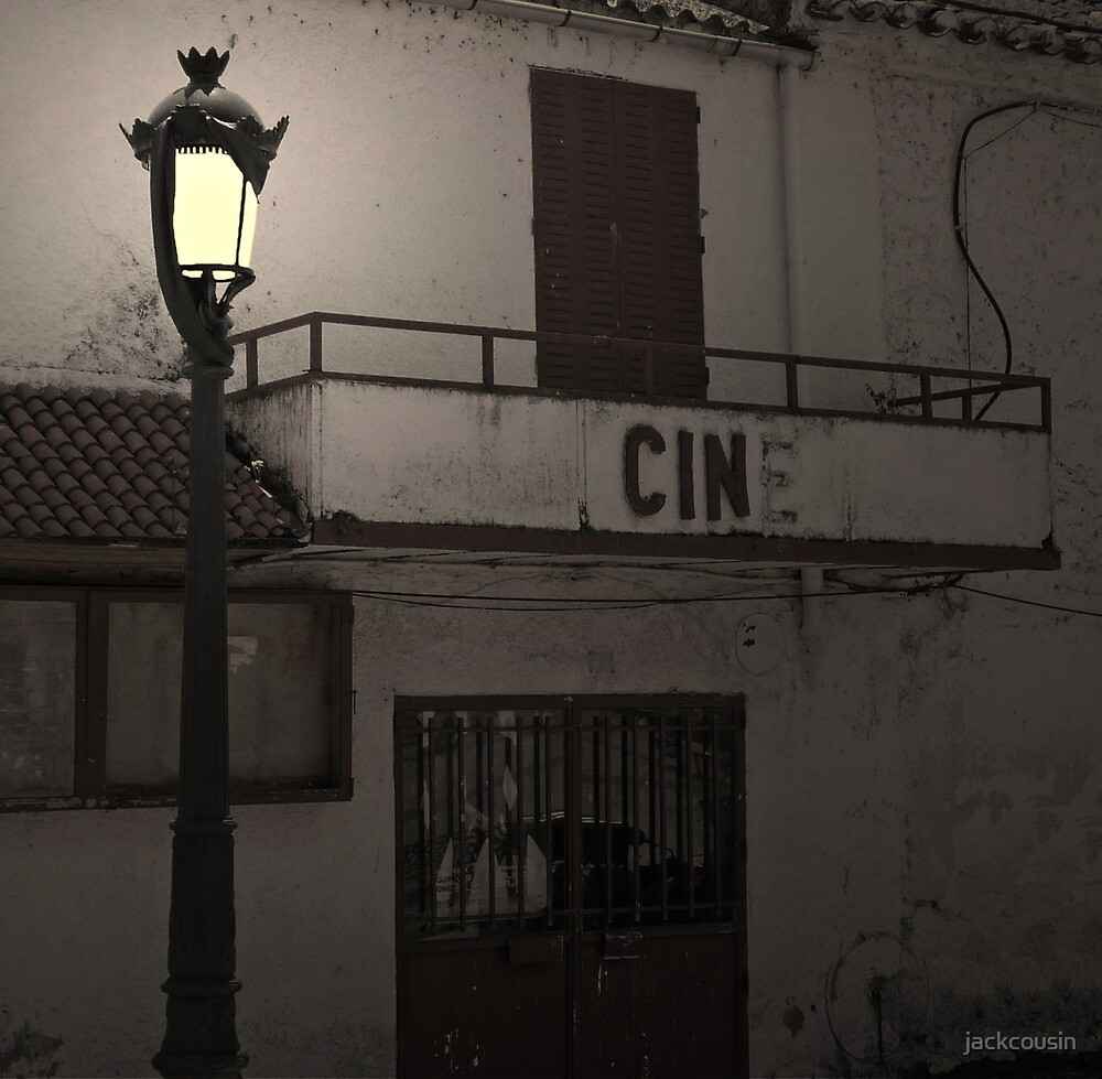 Cinema not showing anymore by jackcousin
