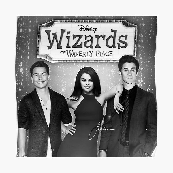 WIZARDS OF WAVERLY PLACE POSTER Rare Hot New 24x36