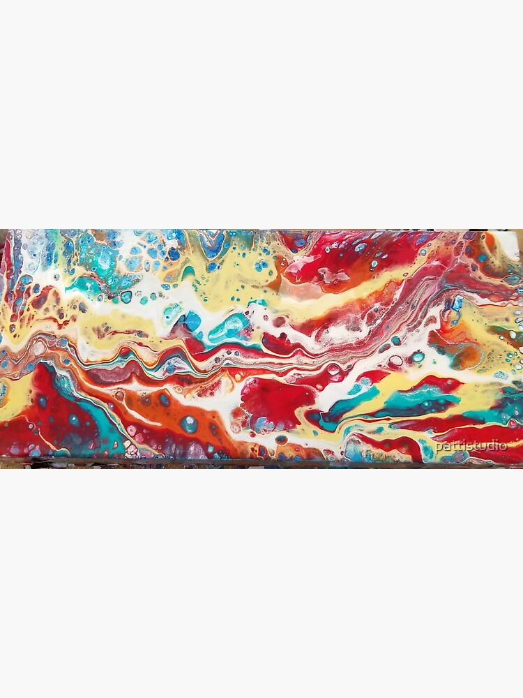 Acrylic Painting Desert Landscape by pattistudio