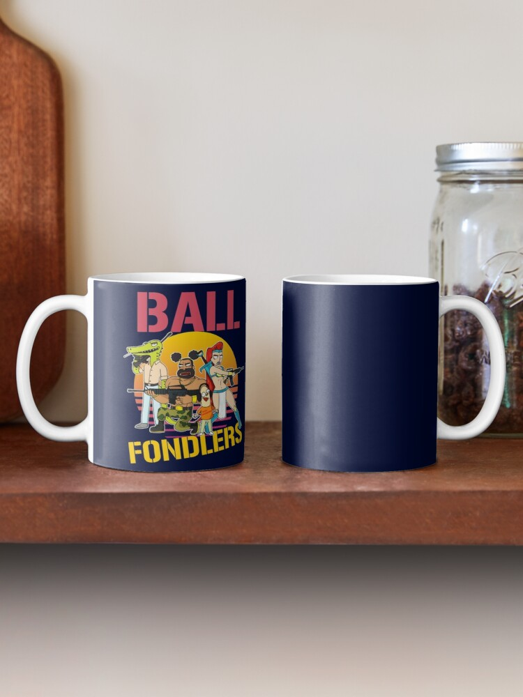 Alternate view of Rick and Morty Ball Fondlers TV Series T-shirt Mug