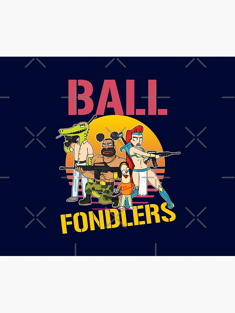 Rick and Morty Ball Fondlers TV Series T-shirt by McPod