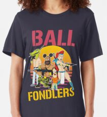 Rick and Morty Ball Fondlers TV Series T-shirt Slim Fit T-Shirt