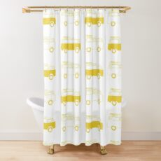 Cortina de ducha yellow furgo